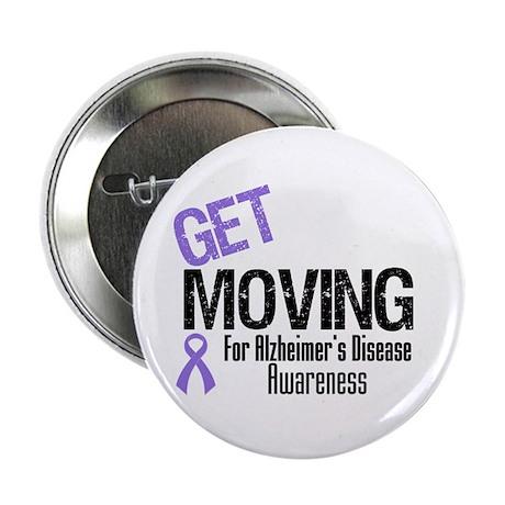 "Get Moving Alzheimer's 2.25"" Button (10 pack)"