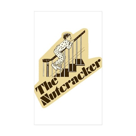 The Nutcracker Rectangle Sticker 10 pk)