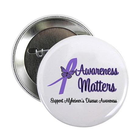 """AwarenessMatters-Alzheimer's 2.25"""" Button (10 pack"""
