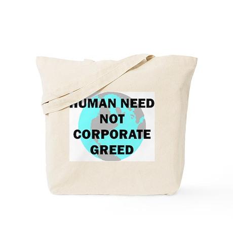 HUMAN NEED Tote Bag