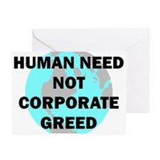 HUMAN NEED Greeting Cards (Pk of 10)
