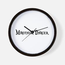 Minotaur Dancer Wall Clock