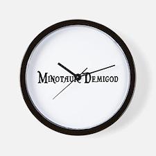 Minotaur Demigod Wall Clock