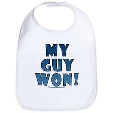 My Guy Won! Obama tees & gifts Bib