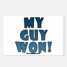 My Guy Won! Obama tees & gifts Postcards (Package