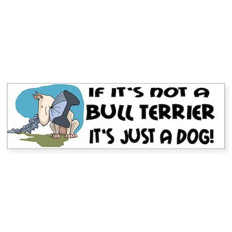 Bullterrier Bumper Sticker