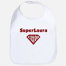 Super Hero Laura Bib