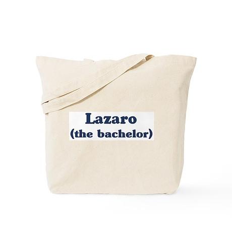 Lazaro the bachelor Tote Bag