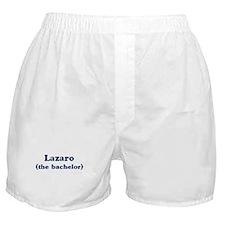 Lazaro the bachelor Boxer Shorts