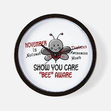 Diabetes Awareness Month 4.1 Wall Clock