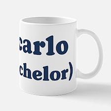 Giancarlo the bachelor Mug