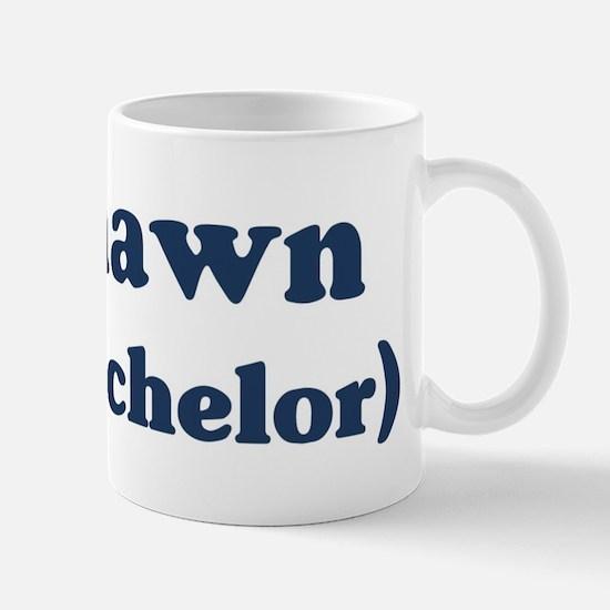Deshawn the bachelor Mug