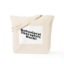 Behavioral Therapist Rock! Tote Bag