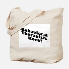 Behavioral Therapist Rock! Tote Bag
