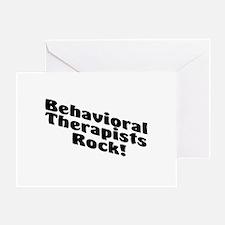 Behavioral Therapist Rock! Greeting Card