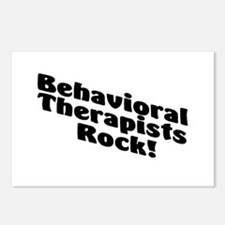 Behavioral Therapist Rock! Postcards (Package of 8