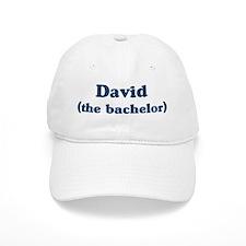 David the bachelor Baseball Cap
