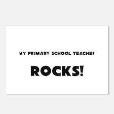 MY Primary School Teacher ROCKS! Postcards (Packag
