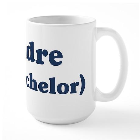 Dandre the bachelor Large Mug