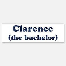 Clarence the bachelor Bumper Bumper Bumper Sticker
