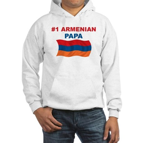 #1 Armenian Papa Hooded Sweatshirt