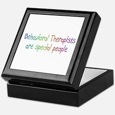 Behavioral Therapist Are Special People Keepsake B