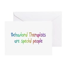 Behavioral Therapist Are Special People Greeting C
