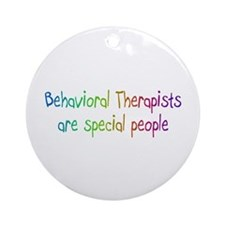 Behavioral Therapist Are Special People Ornament (