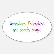 Behavioral Therapist Are Special People Decal