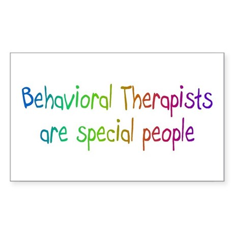 Behavioral Therapist Are Special People Sticker (R
