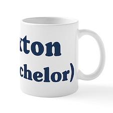 Braxton the bachelor Mug