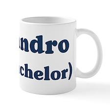 Alejandro the bachelor Mug
