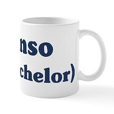 Alonso the bachelor Mug