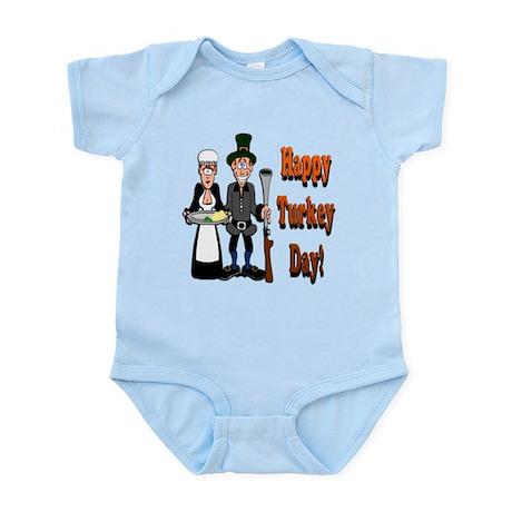 Thanksgiving Pilgrims Infant Bodysuit