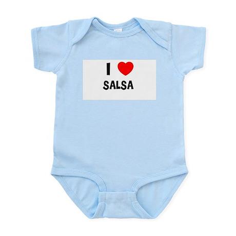 I LOVE SALSA Infant Creeper