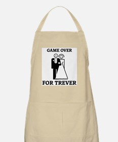Game over for Trever BBQ Apron