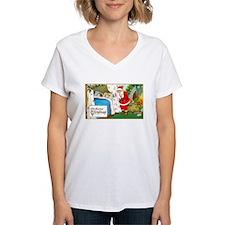 Santa Christmas Eve Gifts Shirt