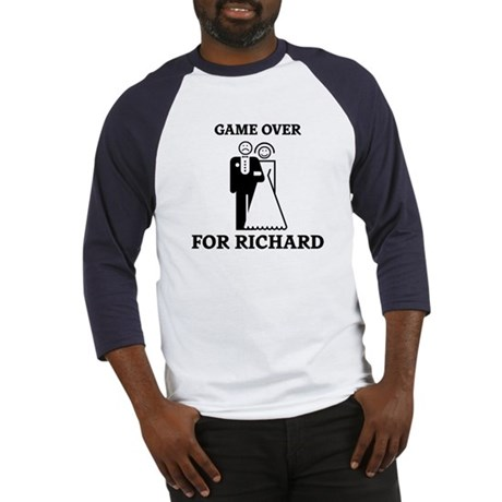 Game over for Richard Baseball Jersey