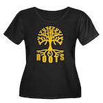 Roots Women's Plus Size Scoop Neck Dark T-Shirt