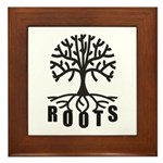 Roots Framed Tile