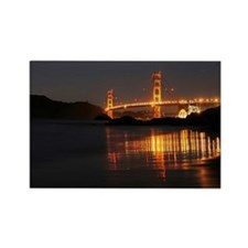 Golden Gate from Barker Beach Rectangle Magnet