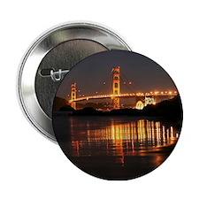 """Golden Gate from Barker Beach 2.25"""" Button"""