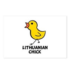 Lithuanian Chick Postcards (Package of 8)