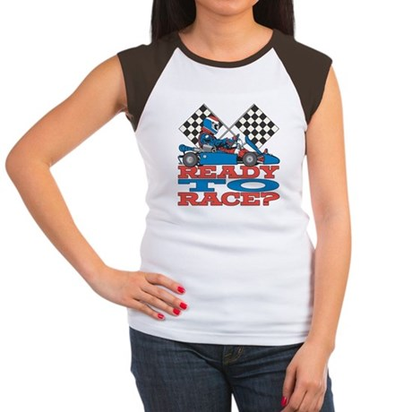 Ready to Race Go Kart Junior's Cap Sleeve T-Shirt