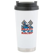 Ready to Race Go Kart Travel Mug