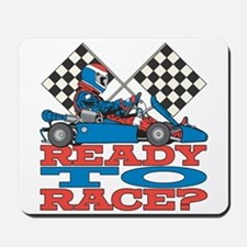 Ready to Race Go Kart Mousepad
