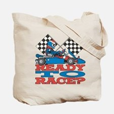 Ready to Race Go Kart Tote Bag