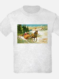 Christmas Winter Sled T-Shirt