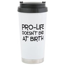 Pro-Life Travel Coffee Mug