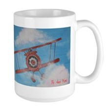 Hand Painted Fly Away Home Mug